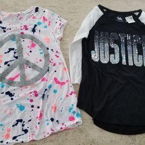 Super cute 💝 new Justice tops